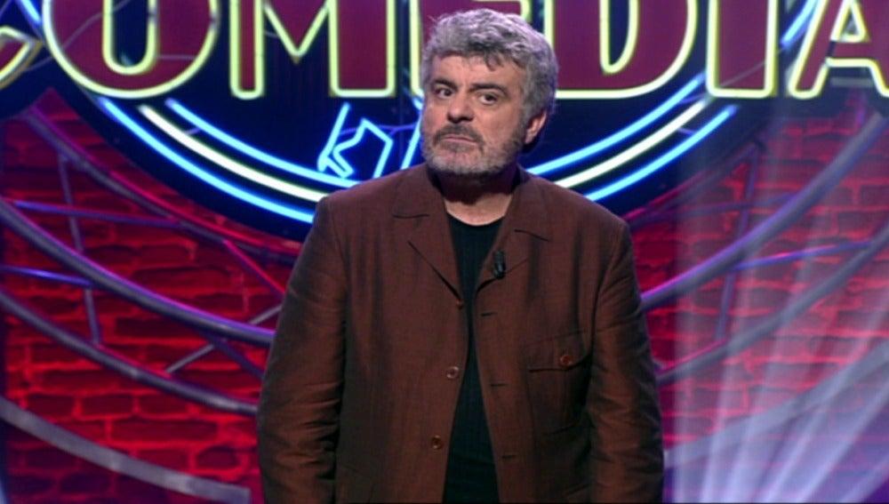 Millán Salcedo en El Club de la Comedia