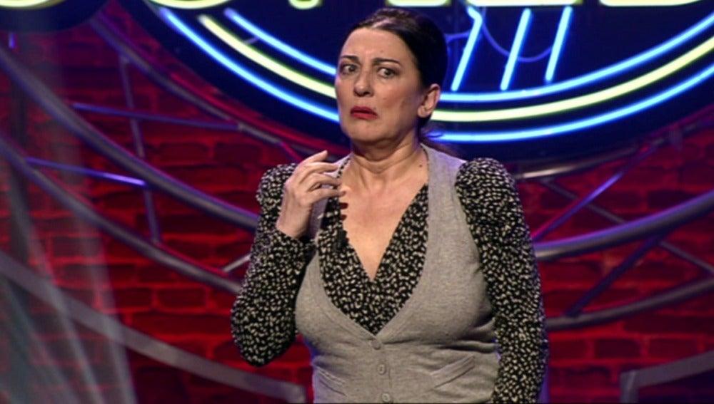 Isabel Ordaz en El Club de la Comedia