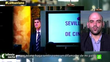 Roberto Saviano habla con Iñaki López