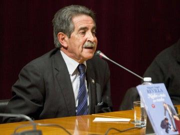 Miguel Ángel Revilla, expresidente de Cantabria