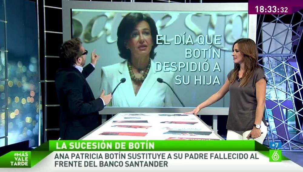 Daniel Cervera analiza el perfil de Ana Patricia Botín