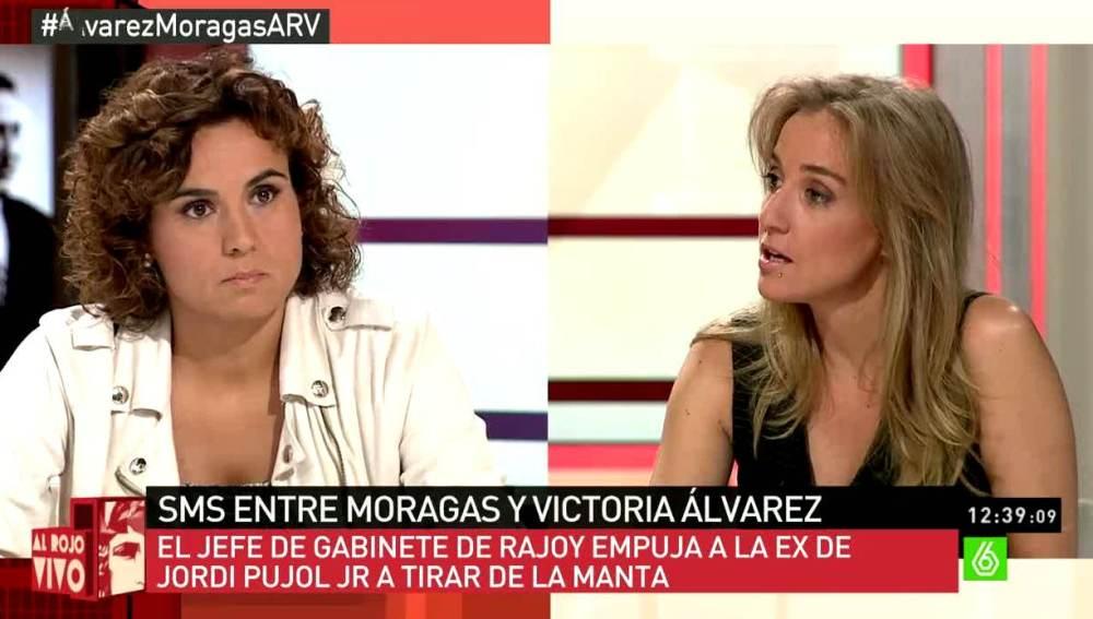 Tania Sánchez en ARV
