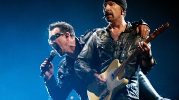 Bono y The Edge del grupo U2