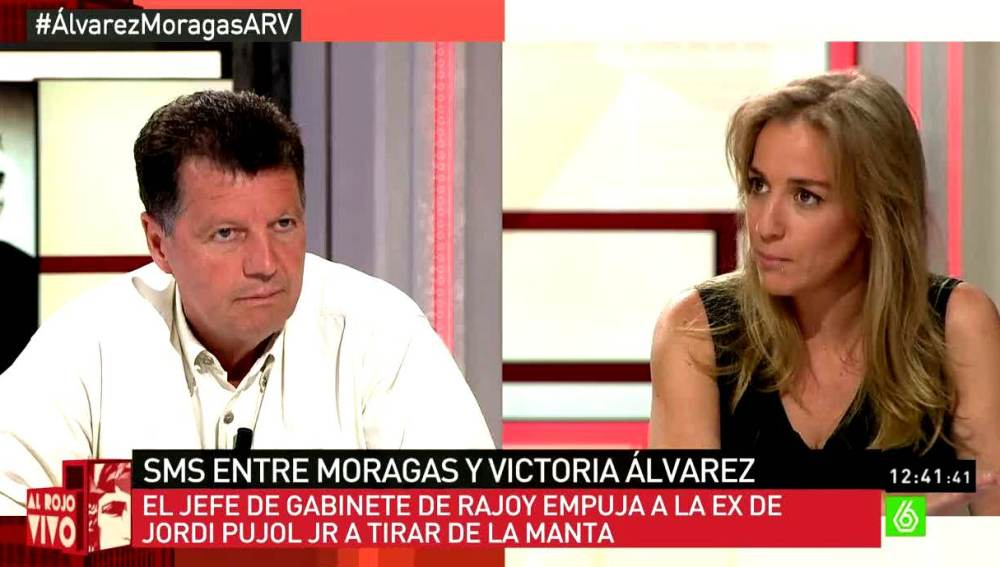 Tania Sánchez debate con Alfonso Rojo
