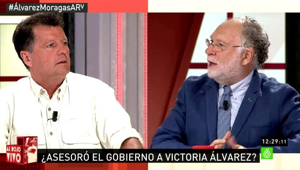 Ernesto Ekaizer con Alfonso Rojo