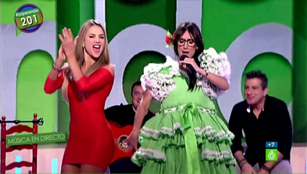 Ximena Córdoba y Ana Morgade