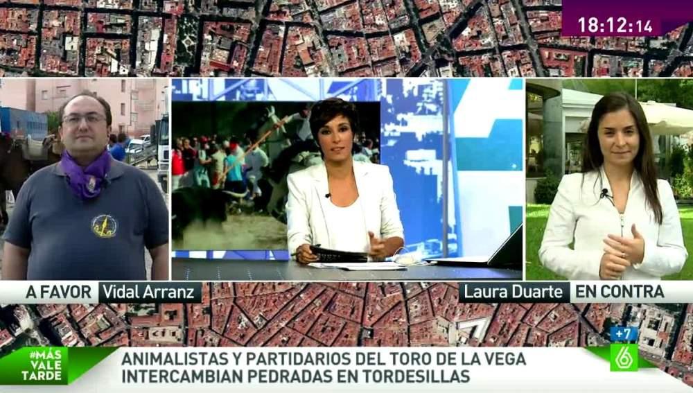 Laura Duarte, en Más Vale Tarde