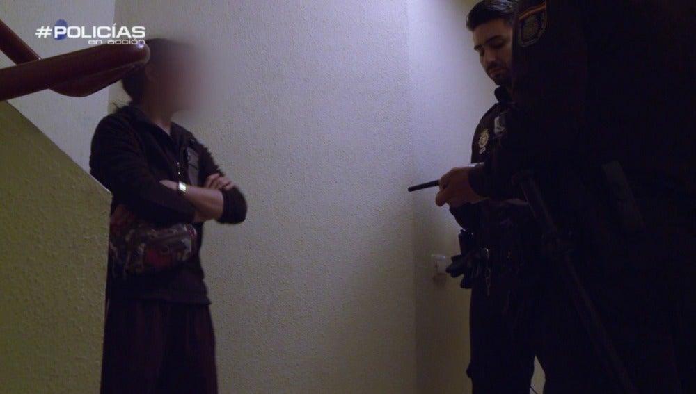 Disputa familiar en Policías en acción