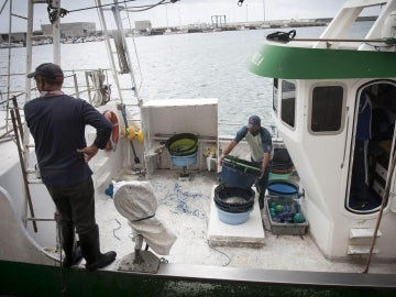 Un pesquero gaditano