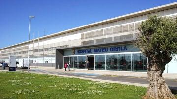 El hospital Mateu Orfila de Menorca
