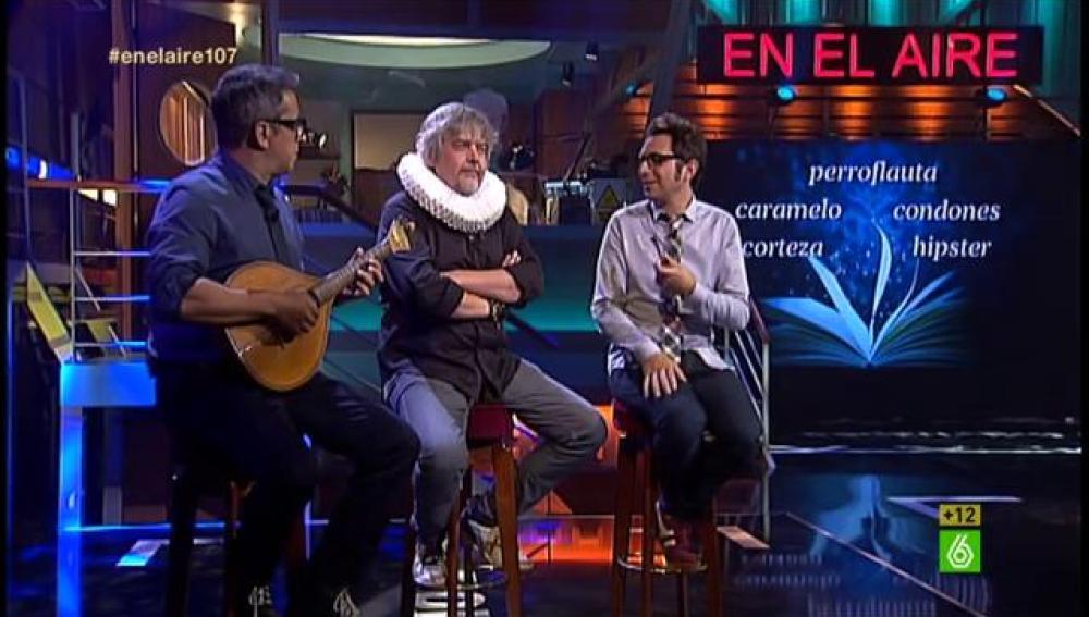 Javier Coronas en En el aire