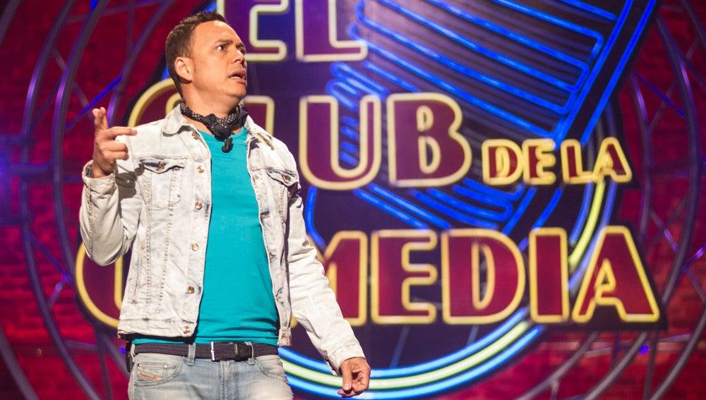 Alexis Valdés, en El Club de la Comedia