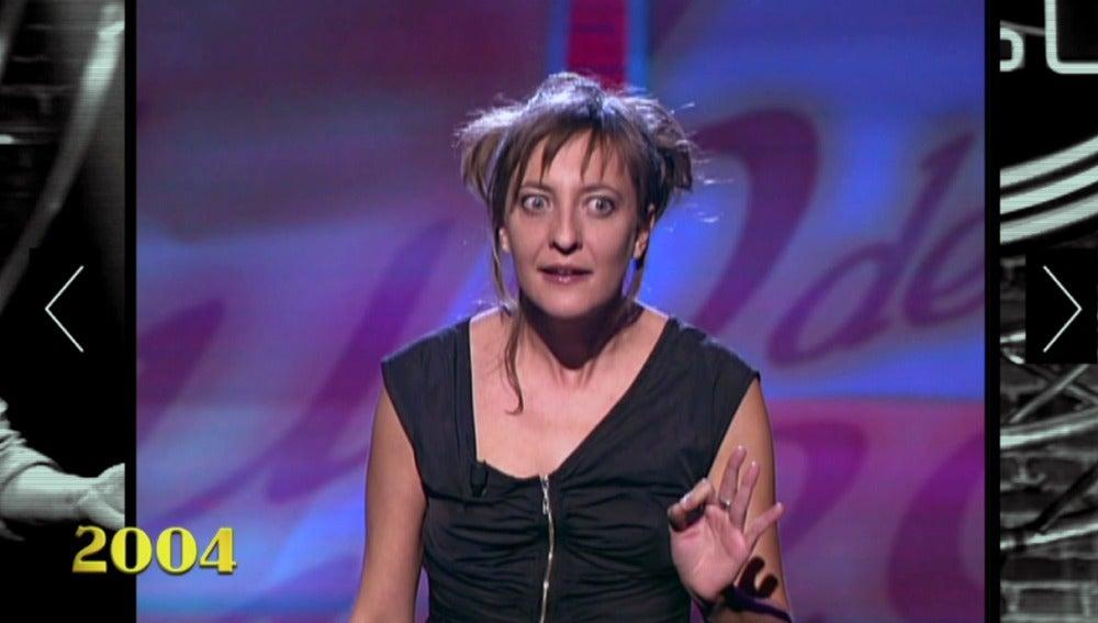 Eva Hache, en 2004