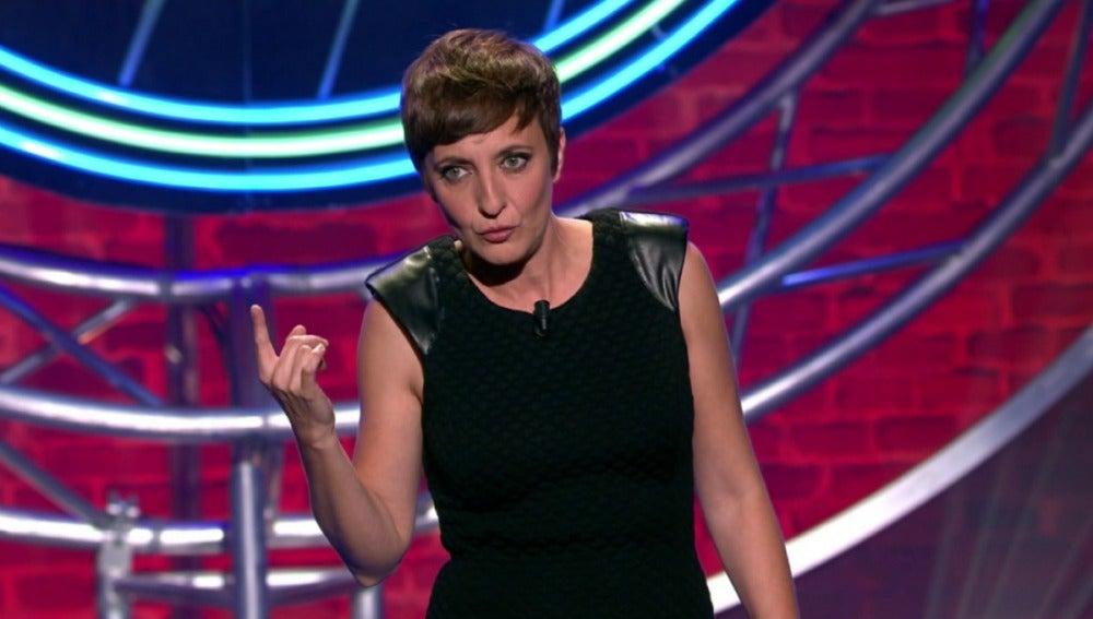 Eva Hache, en el programa 48 de 'El Club de la Comedia'