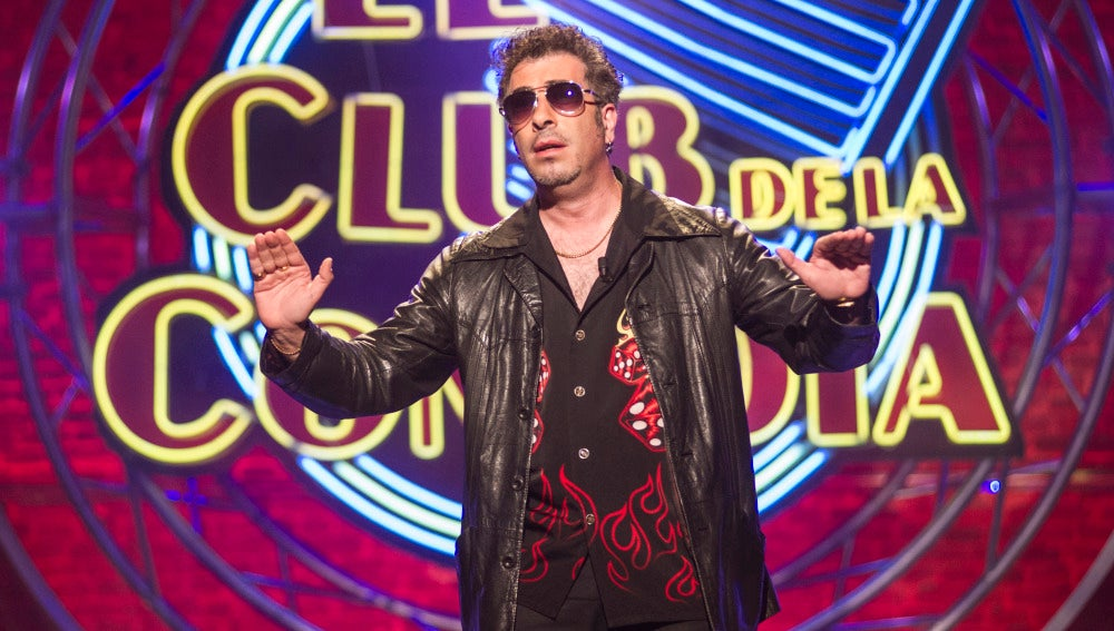 Agustín Jiménez, en El Club de la Comedia