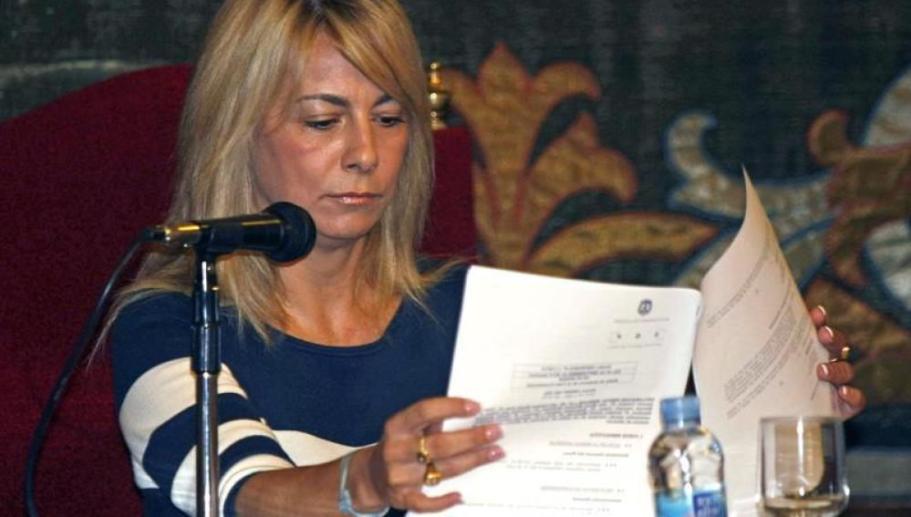 La alcaldesa de Alicante, Sonia Castedo