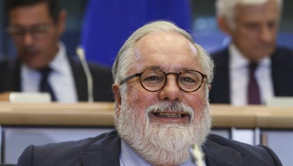 Miguel Arias Cañete ante la Eurocámara