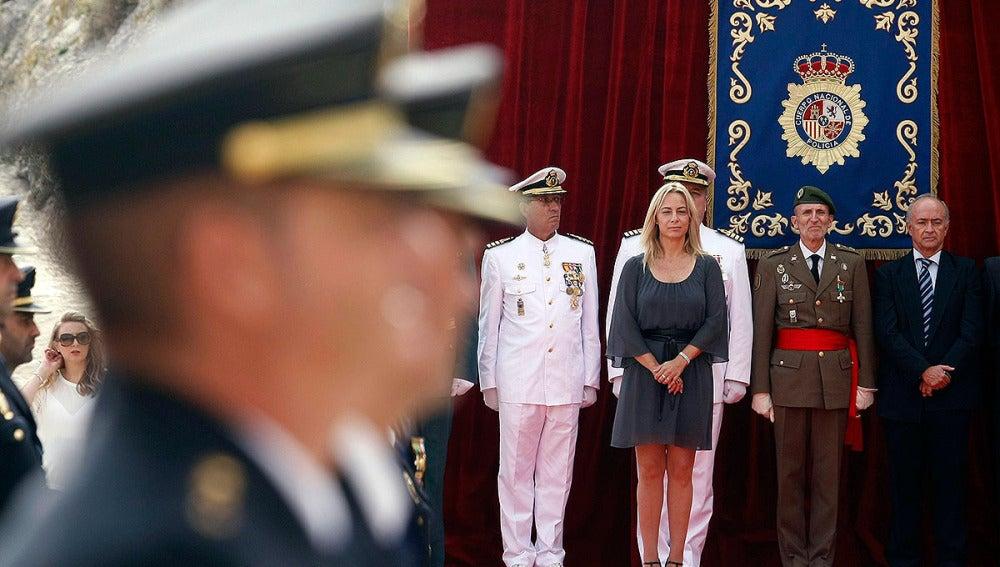 Sonia Castedo en un acto oficial