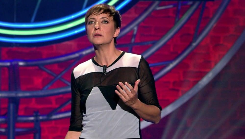 Eva Hache, en 'El Club de la Comedia'