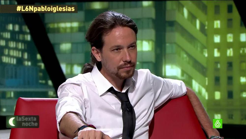 Pablo Iglesias en 'laSexta Noche'