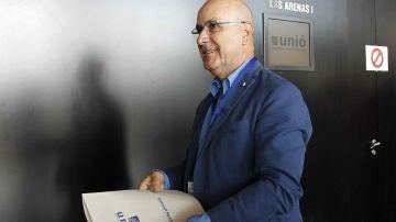 El líder de Unió Democrática de Catalunya (UDC), Josep Antoni Duran Lleida