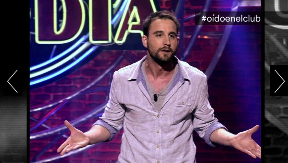 Dani Rovira, en #oidoenelclub