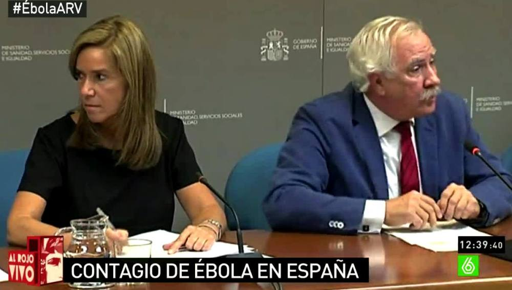 Ana Mato en rueda de prensa
