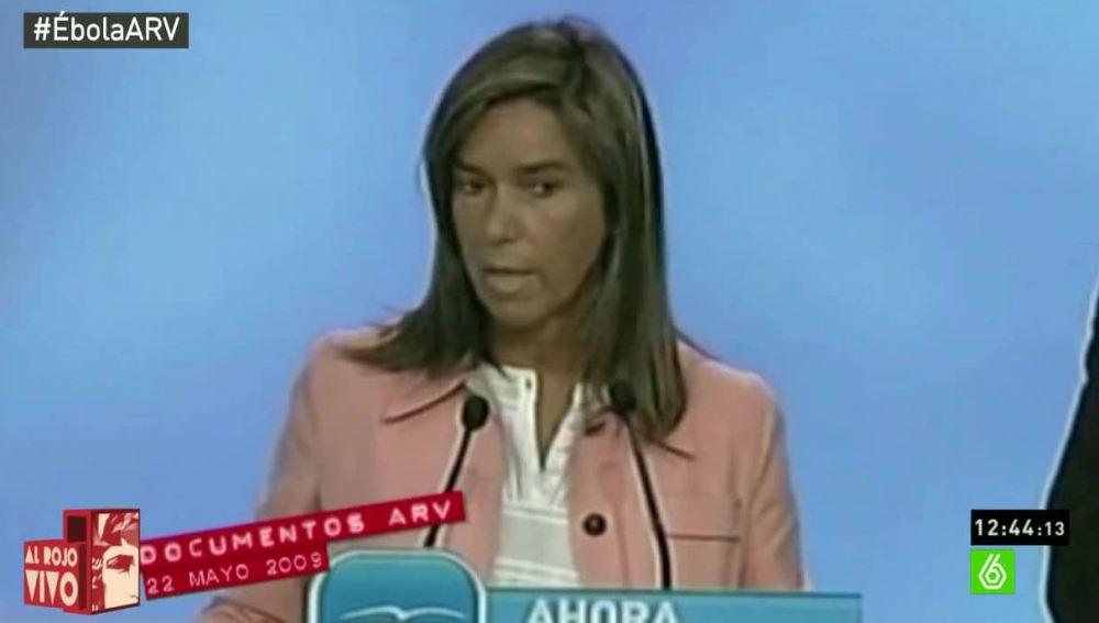 Ana Mato en la oposición