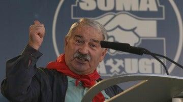 José Ángel Fernández Villa, exsecretario general  del SOMA UGT