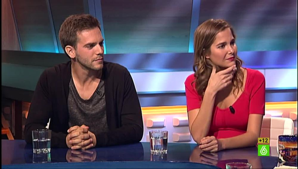 Marc Clotet y Natalia Sánchez