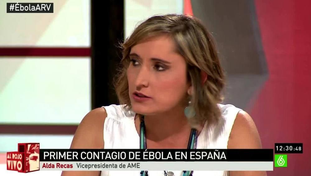 Alda Recas, vicepresidenta de AME