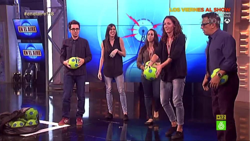 Selección de Baloncesto en En el aire