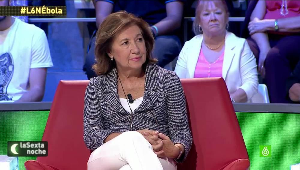 """Manuela Cabero: """"Las probabilidades de que haya una epidemia aquí son ínfimas"""""""
