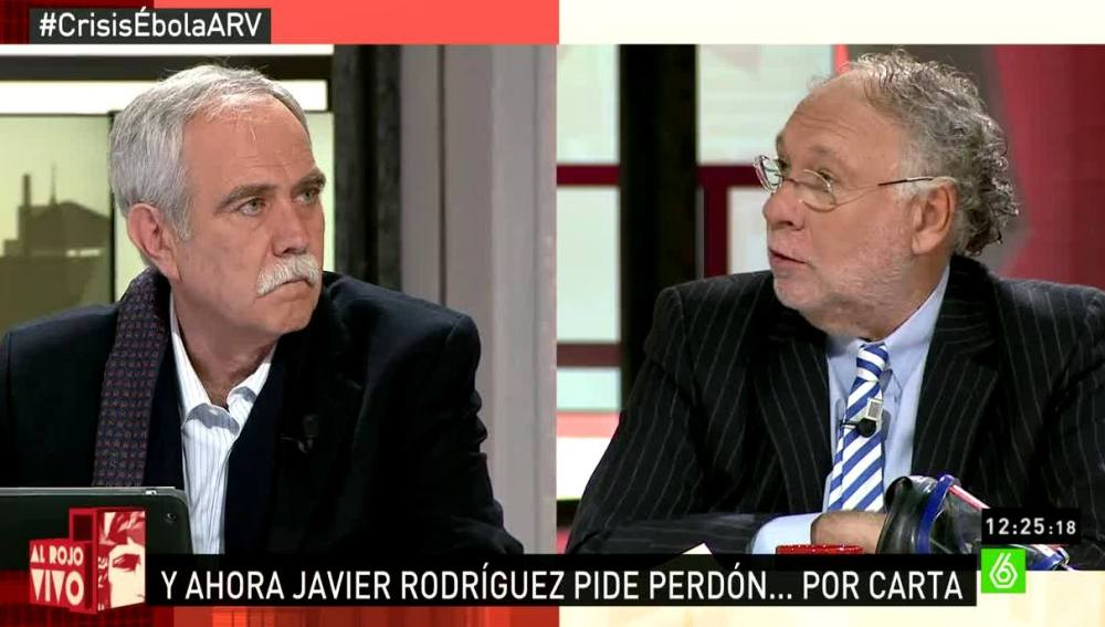 Antonio Pérez Henares y Ekaizer en ARV