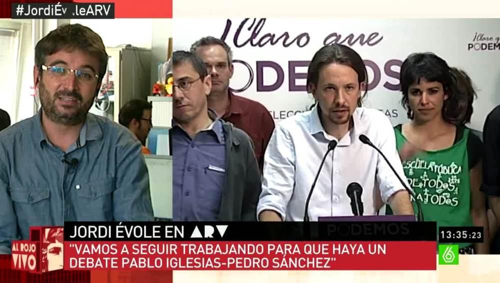 Jordi Évole habla sobre Podemos