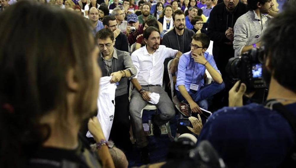 Las corrientes de Podemos deciden cómo será la organización del partido