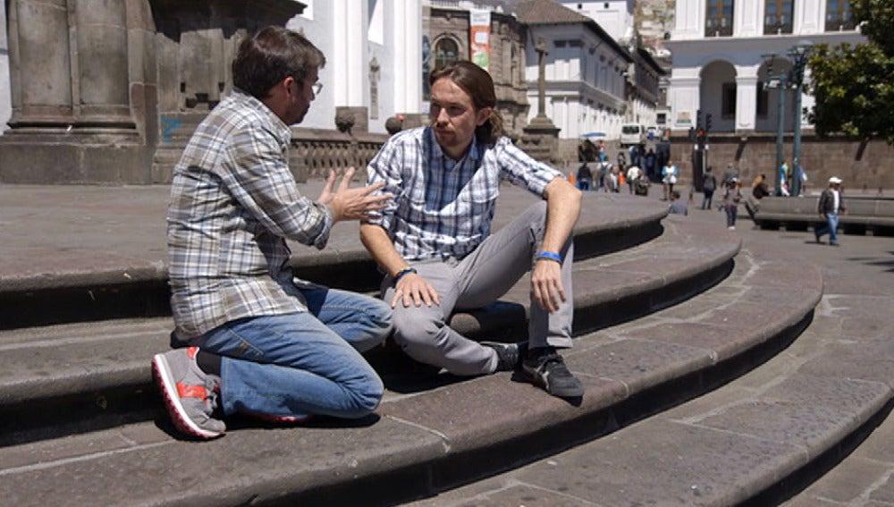 Pablo Iglesias, en 'Salvados'