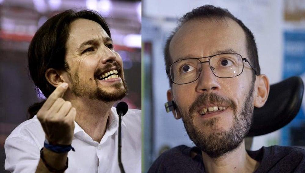 Iglesias y Echenique, dos modelos y una misma filosofía para Podemos