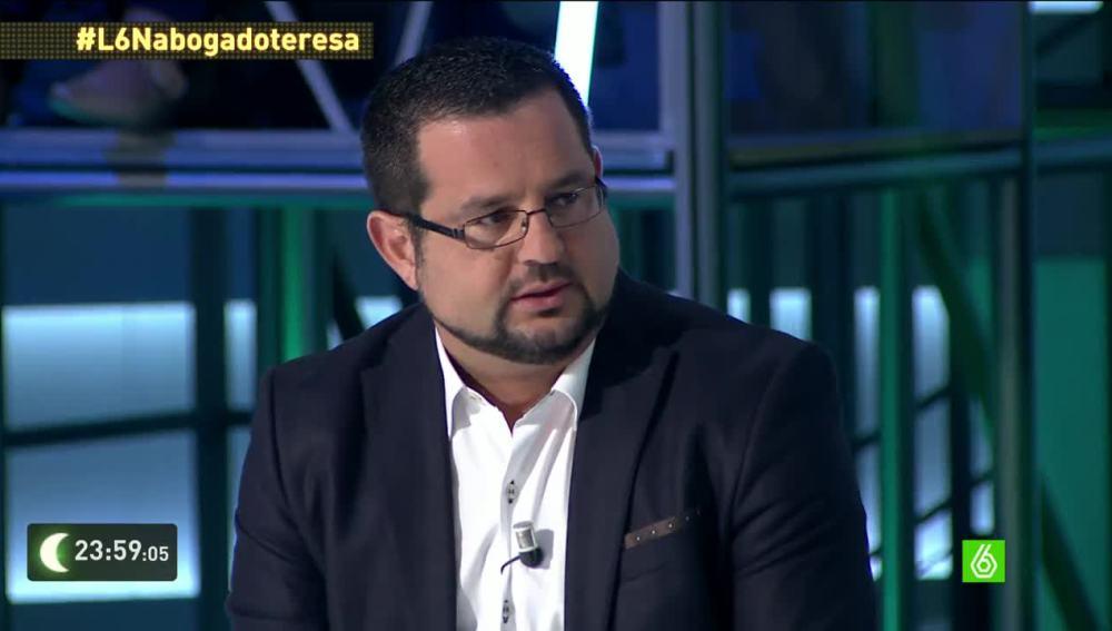 """José María Garzón, abogado de Teresa Romero: """"Estamos valorando ya algún tipo de acción judicial"""""""