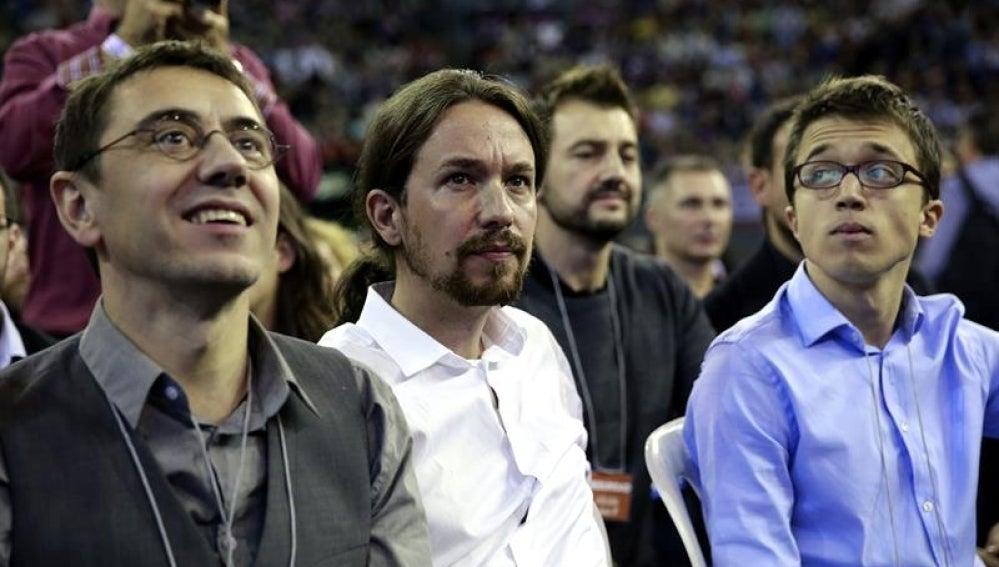 Rueda de prensa de Podemos