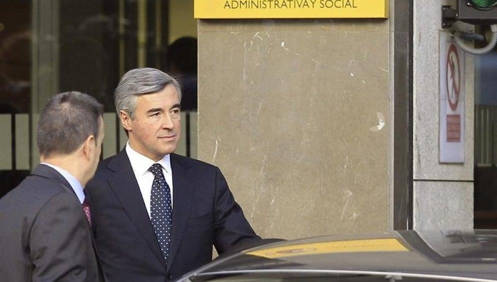El exsecretario general del PP Ángel Acebes