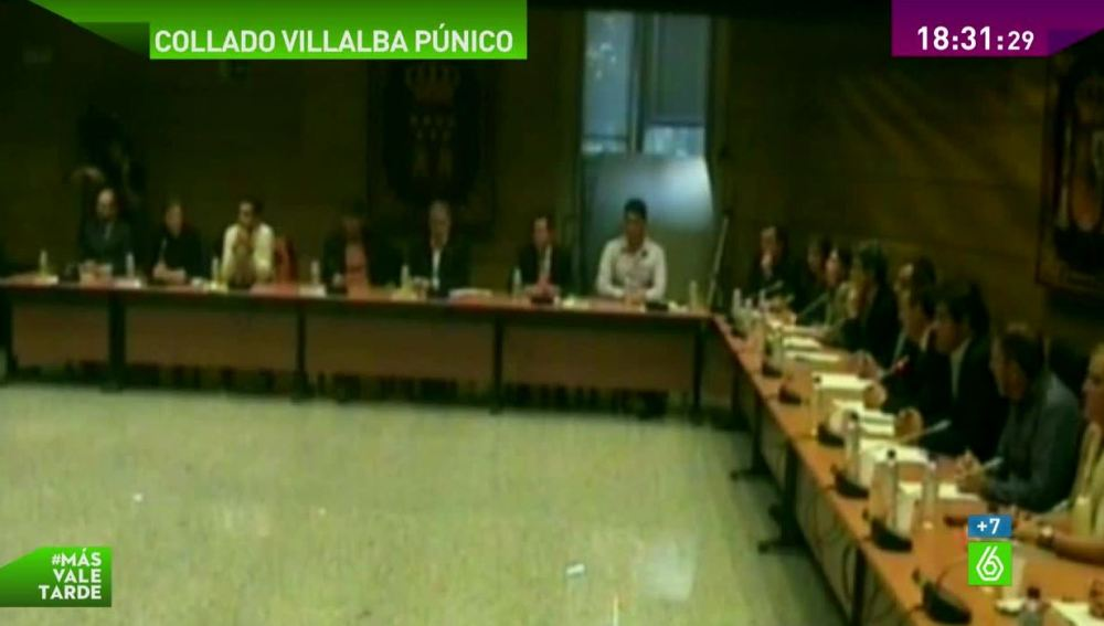 Pleno en Collado Villalba