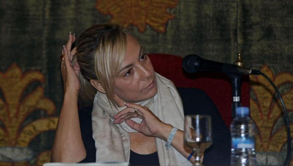 Sonia Castedo en el Ayuntamiento de Alicante