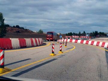 Obras en la carretera