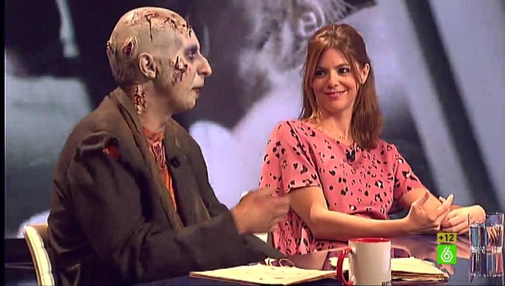 Pepe Zombi y Manuela Velasco