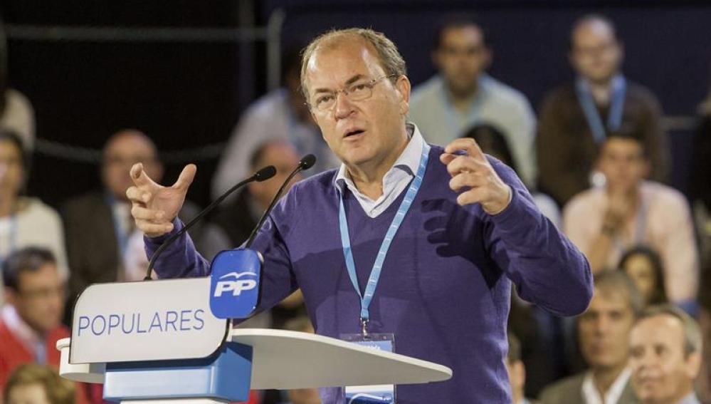 El presidente de Extremadura, José Antonio Monago