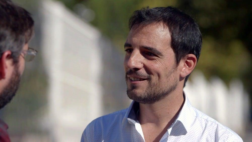 Jordi Évole entrevista al alcalde de Castelldefels, Manuel Reyes