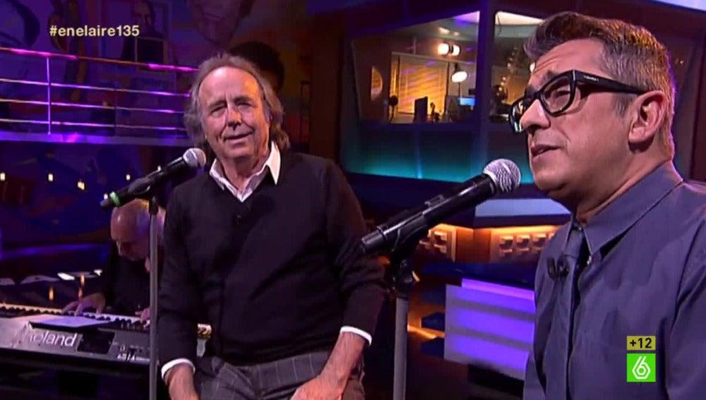 Serrat y Andreu cantan juntos