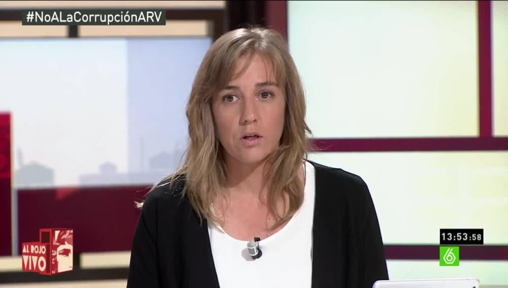 """Tania Sánchez: """"Hay compañeros muy concretos que deberían dar un paso atrás y dejar de perjudicar a IU"""""""