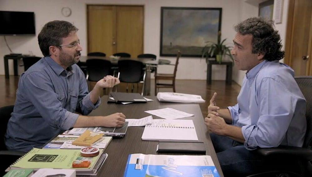 Jordi Évole habla con Sergio Fajardo